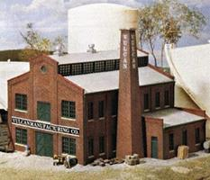 Walthers Vulcan Manufacturing Co. - Kit - 5-5/8 x 5-11/16 N Scale Model Railroad Building #3233
