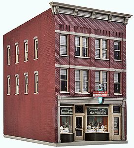 Walthers jewelry store kit 3 9 16 x 5 7 8 x 6 39 39 ho - Printable ho scale building interiors ...