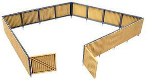 Walthers Corrugated Fence Kit 240 Scale Feet 1-1/4 HO Scale Model Railroad Building Accessory #3632