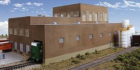 Walthers Paper Mill - Superior Paper - Kit HO Scale Model Railroad Building #3902
