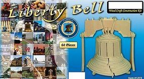 Wood-3D Liberty Bell (4.5 Wide, 6 Tall) Wooden 3D Jigsaw Puzzle #1272