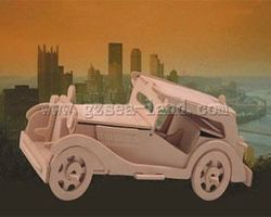 Wood-3D MG TC Car (10.5 Long) Wooden 3D Jigsaw Puzzle #p16