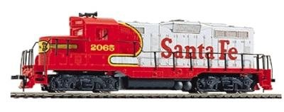 Walthers Trainline EMD GP9M Santa Fe #2092 -- Model Train Diesel Locomotive -- HO Scale -- #113