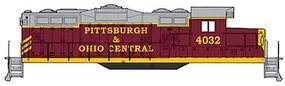 Walthers-Trainline EMD GP9M Pittsburgh & Ohio Central #4032 Model Train Diesel Locomotive HO Scale #137