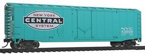 Walthers-Trainline Boxcar Ready to Run New York Central Model Train Freight Car HO Scale #1403