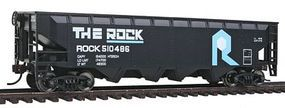 Walthers-Trainline Offset Hopper Ready to Run Rock Island Model Train Freight Car HO Scale #1423