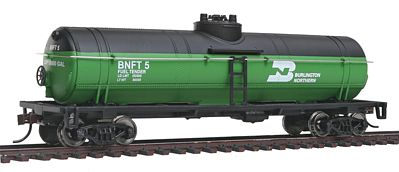 Walthers Trainline Tank Car Ready To Run Burlington Northern -- Model Train Freight Car -- HO Scale -- #1440