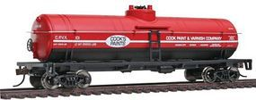 Walthers-Trainline Tank Car Ready To Run Cooks Paints CPVX Model Train Freight Car HO Scale #1442