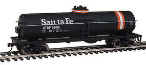 Walthers-Trainline Tank Car Ready to Run Santa Fe HO Scale Model Train Freight Car #1444