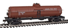 Walthers-Trainline Tank Car Ready to Run Canadian National Boxcar Red HO Scale Model Train Freight Car #1445