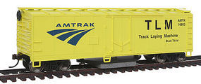 Walthers-Trainline Track Cleaning Boxcar Amtrak Model Train Freight Car HO Scale #1480