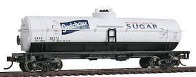 Walthers-Trainline 40 Tank Car Ready to Run Godchaux Sugar GATX Model Train Freight Car HO Scale #1618