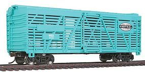 Walthers-Trainline 40 Stock Car Ready to Run New York Central Model Train Freight Car HO Scale #1687