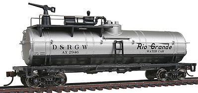 Walthers Trainline Firefighting Car Denver & Rio Grande Western #AX -- Model Train Freight Car -- HO Scale -- #1791