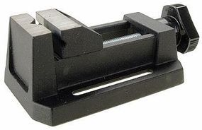 Zona Mini Vise (Zinc Die Cast, Horizontal V Groove, Mini Anvil)