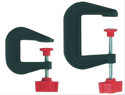 Zona Tool Co. Small & Large Plastic C-Clamp Set