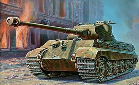 Zvezda Pz.Kpfw.VI Tiger II Porsche Turret Plastic Model Military Vehicle Kit 1/35 Scale #3616