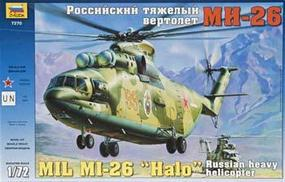 Zvezda Mil Mi26 Russian Heavy Helicopter Plastic Model Helicopter Kit 1/72 Scale #7270