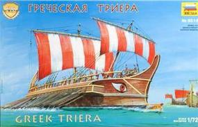Zvezda Greek Triera Battleship 1/72 Scale Plastic Model Military Ship #8514