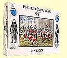 English Civil War- Pikemen (20) -- Plastic Model Military Figure -- 1/32 Scale -- #2