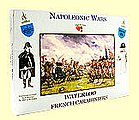 Napoleonic Wars- French Carabiniers (4 Mtd) -- Plastic Model Military Figure -- 1/32 Scale -- #21