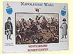 Napoleonic Wars- Scots Greys (8) -- Plastic Model Military Figure -- 1/32 Scale -- #25