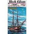 Black Falcon Pirate Ship Classic -- Plastic Model Sailing Ship -- 1/100 Scale -- #6003