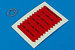 Remove Before Flight Flags IDF Black Lettering -- Plastic Model Aircraft Decal -- 1/32 -- #320011