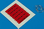 Remove Before Flight Flags IDF Black Lettering -- Plastic Model Aircraft Decal -- 1/48 -- #480029