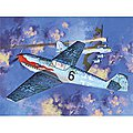 Messerschmitt Bf109T2 Fighter (Ltd Edition) -- Plastic Model Airplane Kit -- 1/48 Scale -- #12225