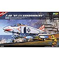 F-4B VF-111 Sundowners (MCP) -- Plastic Model Airplane Kit -- 1/48 Scale -- #12232