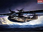 PBY5A Black Cat Aircraft -- Plastic Model Airplane Kit -- 1/72 Scale -- #12487