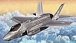 F35A Lightning II USAF Aircraft (New Tool) -- Plastic Model Airplane Kit -- 1/72 Scale -- #12507