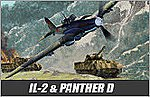 IL-2M / Panther D -- Plastic Model Airplane Kit -- 1/72 Scale -- #12538