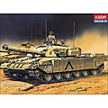 Challenger Battle Tank with Motor -- Motorized Plastic Model Vehicle Kit -- 1/48 Scale -- #1303