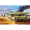 Merkava MK IV LIC Low Intensity Conflict -- Plastic Model Military Vehicle Kit -- 1/35 -- #13227