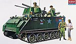 M113A1 Armoured Personnel Carrier -- Plastic Model Military Vehicle -- 1/35 Scale -- #13210