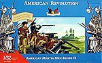 American Militia Set II -- Revolutionary War -- Plastic Model Military Figure -- 1/32 -- #3209