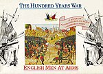 English Men At Arms 1400AD -- Plastic Model Military Figure -- 1/72 Scale -- #7206