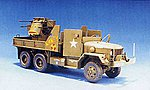 US M35A1 Quad50 Gun Truck Vietnam -- Plastic Model Military Vehicle -- 1/35 Scale -- #35034