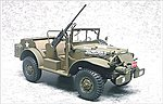 WC57/56 3/4-Ton Command/Recon Vehicle -- Plastic Model Military Jeep Kit -- 1/35 Scale -- #35s16