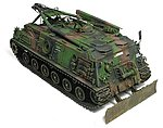 M88A1G Bergepanzer Recovery Tank -- Plastic Model Tank Kit -- 1/35 Scale -- #35s33
