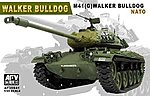 Walker Bulldog M41(G) NATO Tank -- Plastic Model Tank Kit -- 1/35 Scale -- #35s41