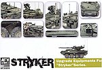 Upgrade Equipment for Stryker -- Plastic Model Military Vehicle Accessory -- 1/35 -- #35s59