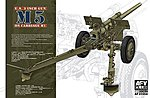 US 3 Inch M5 Gun on M1 Carriage -- Plastic Model Artillery Kit -- 1/35 Scale -- #35s64