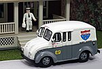 1950 Delivery Truck- Melville All Star Dairy Foods -- HO Scale Model Railroad Vehicle -- #87006