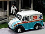 1950 Delivery Truck Rueter Worth Dairy Products -- HO Scale Model Railroad Vehicle -- #87011