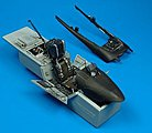 F/A18C Cockpit Set For an Academy Model -- 1/32 Scale -- Plastic Model Aircraft Accessory -- #2035
