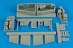 Su25K Frogfoot A Electronic Bay For a Trumpeter -- Plastic Model Aircraft Accessory -- 1/32 -- #2157
