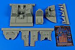 A1D (AD4) Skyraider Cockpit Set For Trumpeter -- Plastic Model Aircraft Accessory -- 1/32 -- #2190